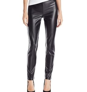 NWT CALVIN KLEIN FAUX LEATHER FROM LEGGINGS